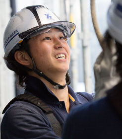 入社5年目のアートビルダー施工スタッフ